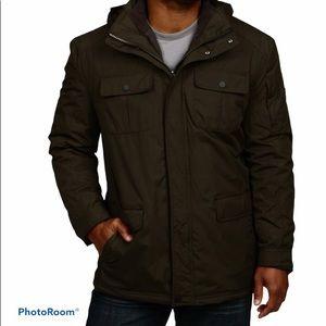 Hawke & Co. Men's Khaki Green Utility Field Jacket
